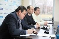 Брифинг руководстав ПФК «Арсенал» с СМИ Тулы, Фото: 1