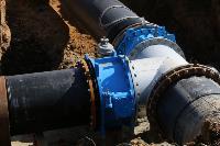 Как ведется монтаж водовода, питающего водой Пролетарский округ Тулы. Фото, Фото: 7