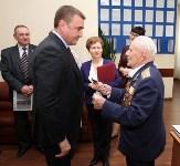 Тульский ветеран предложил Алексею Дюмину увековечить память бронепоезда №16, Фото: 2