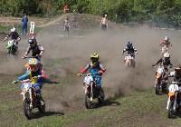 Юные мотоциклисты соревновались в мотокроссе в Новомосковске, Фото: 106