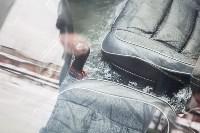 Машина вмерзла в лед, Фото: 9
