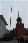 Утром 15 ноября в Тулу привезли шпиль для колокольни Успенского собора, Фото: 6