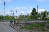 В Пролетарском округе Тулы продолжается асфальтирование дворов, Фото: 5