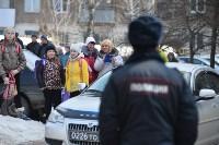 У дома, поврежденного взрывом в Ясногорске, демонтировали опасный угол стены, Фото: 19