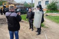 В Плеханово начали сносить дома в цыганском таборе, Фото: 83