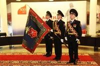 В Туле прошла церемония крепления к древку полотнища знамени регионального УМВД, Фото: 5