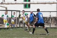 Тульские журналисты сыграли в футбол с зэками, Фото: 1