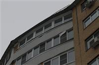Нечищеная крыша дома №116 по пр-ту Ленина, Фото: 6