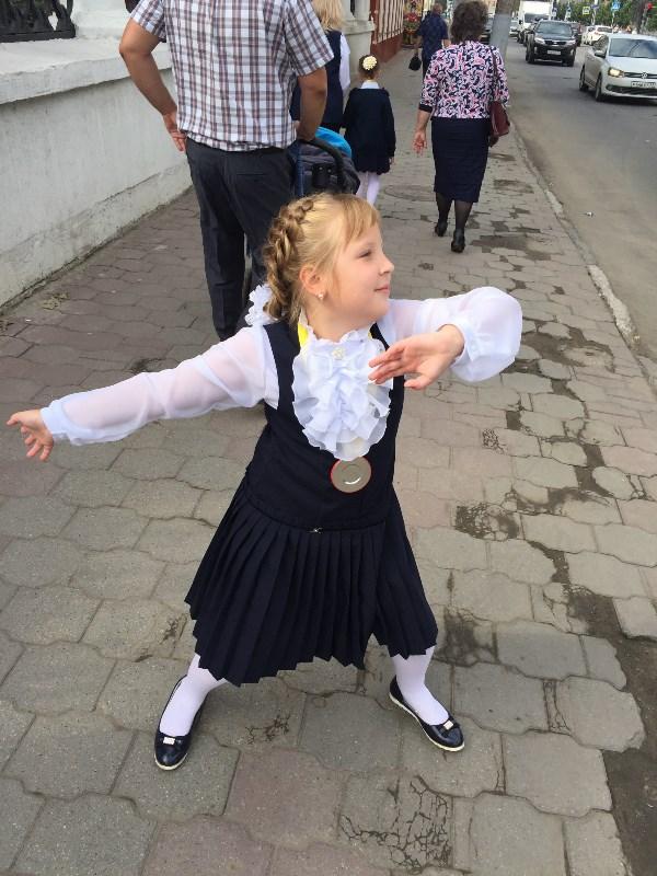 Школа, школа, я танцую!!!