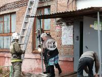 На улице Металлургов в Туле загорелась квартира , Фото: 7