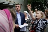 В Щёкино Алексей Дюмин поручил отремонтировать  подъезд дома на Ясенковском проезде, Фото: 9