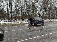 На дороге «Тула-Новомосковск» Ford протаранил Chevrolet, Фото: 12