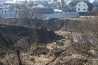 Туляк засыпал ручей, 12 колодцев и 4 канализационных люка, самовольно строя дорогу, Фото: 5