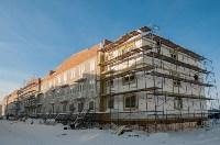 Ведутся работы по утеплению фасада дома №13, Фото: 4