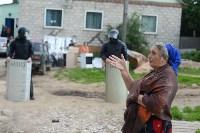 В Плеханово начали сносить дома в цыганском таборе, Фото: 4