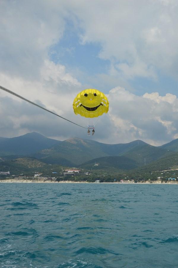 Море,небо,горы и хорошее настроение