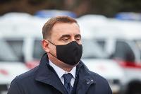 Алексей Дюмин передал региональному Центру медицины катастроф 39 новых автомобилей, Фото: 12