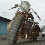 Тульский умелец создал стимпанк-мотоцикл «СССР», Фото: 3