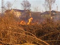 Возгорание сухой травы на ул.Комбайновая, Фото: 3