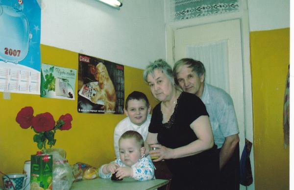 Родительский день. Как хорошо, когда и мама и папа живы , могут общаться с внуками...