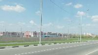 Горит поле напротив ТулСВУ, Фото: 9