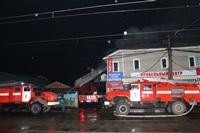На ул. Оборонной в Туле сгорел магазин., Фото: 24
