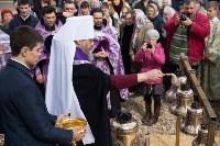 Митрополит Алексий освятил колокола храма в поселке Рождественский, Фото: 7