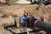Как ведется монтаж водовода, питающего водой Пролетарский округ Тулы. Фото, Фото: 17