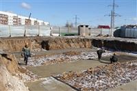 Закладка фундамента для пяти домов в Скуратово. 5.04.2014, Фото: 3