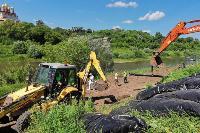 В Тульской области началась расчистка русел Оки и Упы, Фото: 37