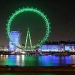 Колесо обозрения London Eye, Лондон, Фото: 1