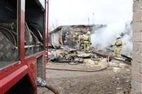 Пожар на ул. Победы в поселке Косая Гора. 3 апреля 2014, Фото: 2
