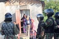 В Плеханово вновь сносят незаконные дома цыган, Фото: 17