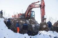 Новая коммунальная авария в Пролетарском округе, Фото: 33