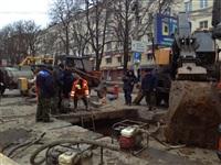 Порыв водопровода на пр. Ленина 4 апреля 2014, Фото: 5