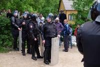 В Плеханово начали сносить дома в цыганском таборе, Фото: 56