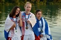 Тулячка взяла серебро на первенстве Европы по плаванию в ластах, Фото: 1