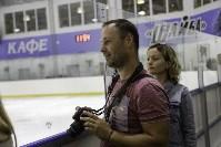 Легенды хоккея провели мастер-класс в Туле, Фото: 43