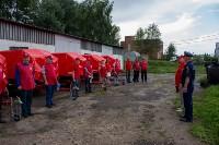 Тульское МЧС передало муниципальным образованиям области прицепы спасательных постов, Фото: 6