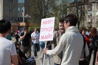 Тульская Федерация профсоюзов провела митинг и первомайское шествие. 1.05.2014, Фото: 1