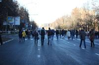 Третий этап эстафеты олимпийского огня: проспект Ленина, Фото: 34