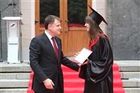 Владимир Груздев поздравил выпускников магистратуры ТулГУ, Фото: 39