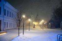 В Туле ночью бушевал буран, Фото: 64