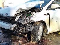 Автомобиль газовой службы попал в ДТП на ул. Первомайской и потерял колесо, Фото: 5