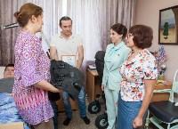Вручение виброжилета инвалиду, Фото: 17