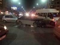 Аварии на перекрестке Красноармейского проспекта и ул. Фрунзе вечером 25 ноября, Фото: 3