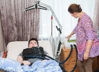 Вручение виброжилета инвалиду, Фото: 2