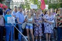Митинг против пенсионной реформы в Баташевском саду, Фото: 35