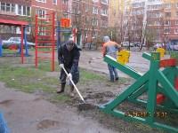 Субботник во дворе дома №19 по ул. Кирова, Фото: 7