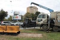 Установка арт-объекта на Красноармейском проспекте, Фото: 4